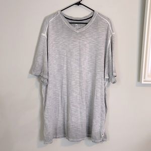 Tommy Bahama ombre white and gray T-shirt